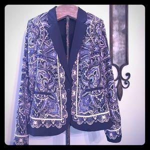 Beautiful paisley blazer